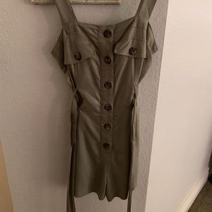Dresses & Skirts - army green dress soze small